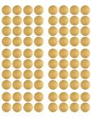 Stickers muraux pois dorés Pom le bonhomme