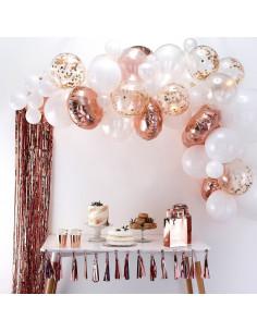 kit-arche-ballons-rose-gold-deco-anniversaire-rose-gold