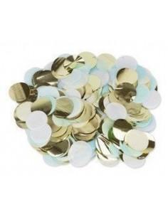 confettis-de-table-bleu-ciel-blanc-or-3cms