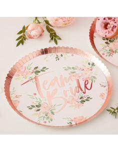 8-grandes-assiettes-evjf-fleurs-bordure-rose-gold-decoration-evjf-boheme-chic