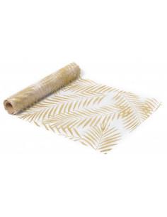 chemin-de-table-organza-palmier-paillettes-dorees.jpg