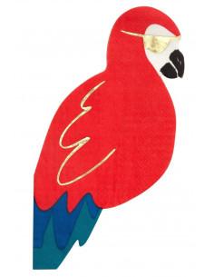 16-serviettes-perroquets-pirates-meri-meri-decoration-anniversaire-bapteme-pirate-tropical