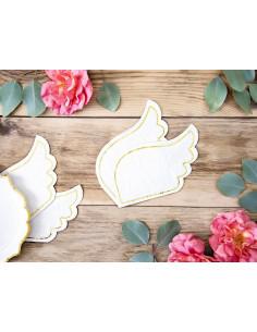 20-petites-serviettes-ailes-d-anges-blanches