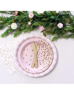 12-petites-assiettes-rose-pastel-pois-mordores-et-dores-deco-table
