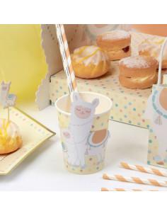 8-gobelets-lama-pastel-decoration-baby-shower-bapteme-anniversaire-1-an