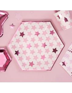 8-grandes-assiettes-etoiles-roses-deco-baby-shower-bapteme-anniversaire-evjf