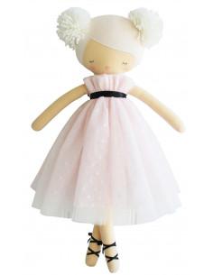 poupee-ballerine-scarlett-avec-pompons-robe-rose-pastel-et-ivoire-50cms