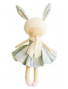 poupee-lapin-belle-tissu-bleu-avec-fleurs-alimrose