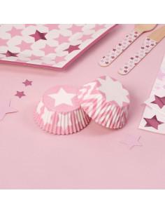 100-caissettes-cupcakes-etoiles-et-chevrons-roses-decoration-baby-shower-bapteme-anniversaire-evjf