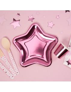 8-petites-assiettes-etoiles-roses-decoration-baby-shower-bapteme-anniversaire-evjf