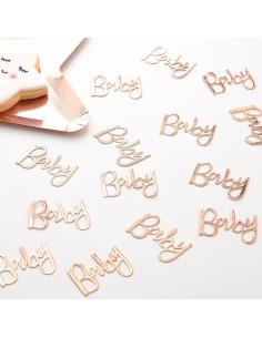 confettis-de-table-baby-rose-gold-decoration-de-table-baby-shower-bapteme