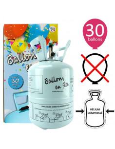 Bouteille Hélium 0,25 M3 de 12 à 30 Ballons