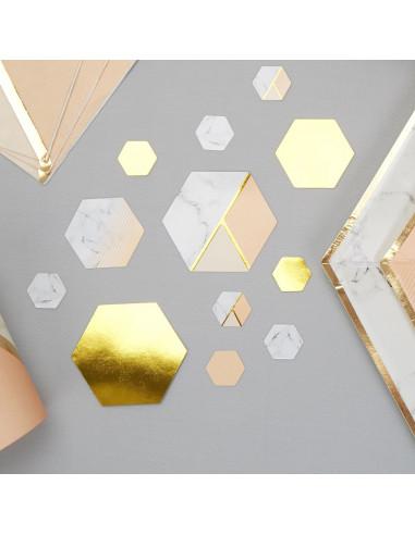 confettis-de-table-effet-marbre- peche-et-dores-decoration-baby-shower-bapteme-anniversaire-mariage