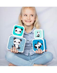 4 Boites à Gouter Panda A Little Lovely Company