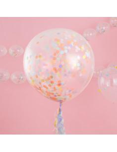 3-ballons-geants-confettis-pastels-decoration-baby-shower-bapteme-anniversaire-mariage