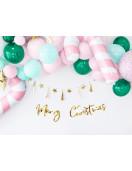 Kit Guirlande 8 Etoiles et 9 Tassels Dorées Déco Noël Pastel