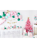 Kit Guirlande 8 Etoiles et 9 Tassels Dorées Guirlande Noël
