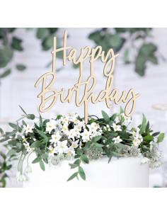 Cake Topper Happy Birthday Bois