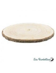 Rondin de bois 12-14 cms Diamètre X2 Cms Epaisseur