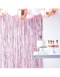 rideau-de-franges-rose-metallise-mat-accessoires-photobooth