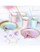 gobelets-vert-pastel-deco-de-table-pastel-deco-baby-shower-bapteme-anniversaire-mariage-pastel