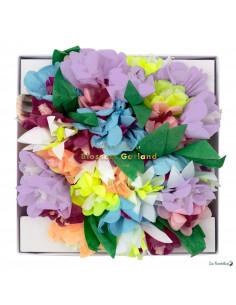 Guirlande Fleurs Pastels Acidulés Meri Meri