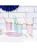 gobelets-vert-pastel-deco-de-table-pastel-baby-shower-bapteme-anniversaire-mariage