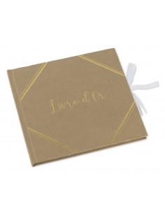 livre-d-or-kraft-ecriture-doree-bapteme-mariage-baby-shower-anniversaire