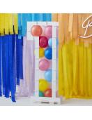 Cadre Forme Chiffre pour Ballons Ballons Multicolores