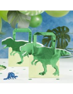 5-sacs-cadeaux-dinosaures-verts-deco-anniversaire-dinosaures