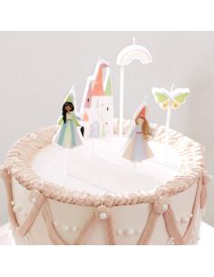5 Bougies Anniversaire Princesse Meri Meri