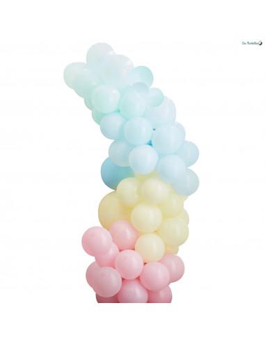 Kit Arche Ballon Pastel Mat