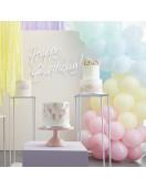 Kit Arche Ballon Pastel Mat déco fête