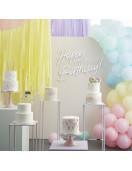 Kit Arche Ballon Pastel Mat déco Candy Bar