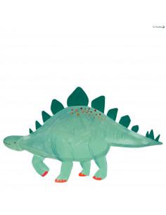 4 Plateaux Dinosaures Stégosaures Meri Meri