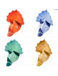 8 Chapeaux Dinosaures 4 Couleurs Meri Meri Déco Anniversaire Dinosaures