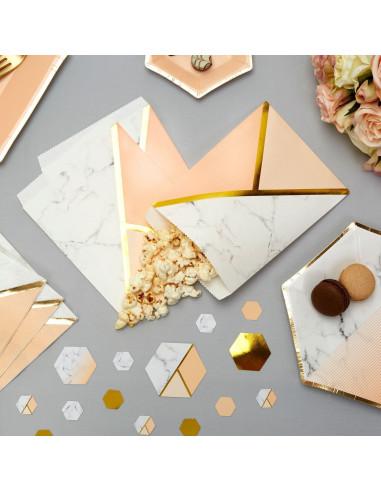 25-pochettes-effet-marbre-peche-et-dore-decoration-baby-shower-bapteme-anniversaire-mariage