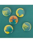 Badge Dinosaure My Little Day Petits Cadeaux Invités