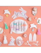 8-lapins-pastels-boules-alveolees-meri-meri-deco-printemps