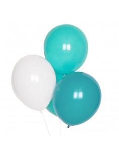 10-ballons-latex-turquoises-aqua-blancs-deco-baby-shower-bapteme-anniversaire