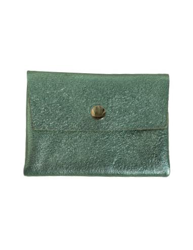 porte-monnaie-cuire-irise-vert-menthe-cadeau-