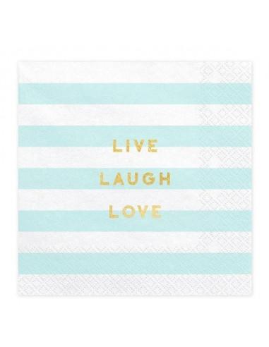 serviettes-rayures-bleu-ciel-blanches-ecritures-dorees-deco-baby-shower-bapteme-anniversaire-mariage-pastel