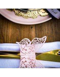 20-ronds-de-serviettes-papillons-rose-pastel-baby-shower-bapteme-anniversaire-mariage