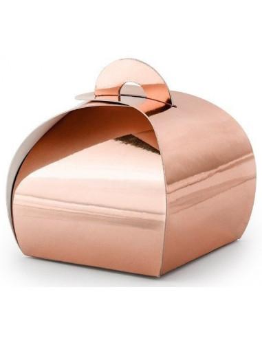 10-boites-rose-gold-en-carton-brillant-deco-rose-gold-baby-shower-bapteme-anniversaire-mariage