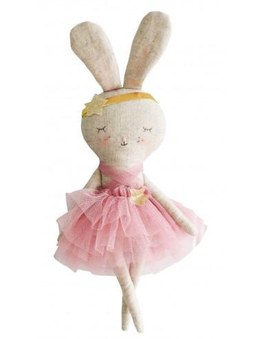 petite-poupee-lapin-millie-tutu-rose-alimrose-cadeau fille