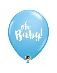 ballons-bleus-baby-shower-garcon-ecriture-oh-baby