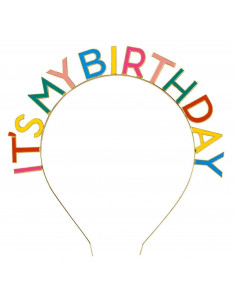 serre-tete-metal-it-s-my-birthday-multicolore-accessoire-deguisement-anniversaire