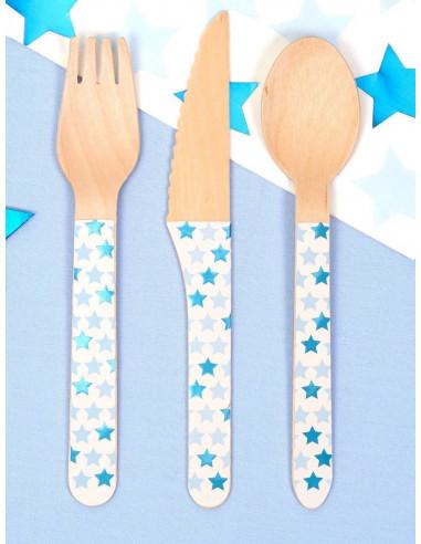 24-couverts-en-bois-etoiles-bleues-decoration-baby-shower-bapteme-anniversaire