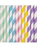 25-pailles-en-papier-retros-pastels-deco-de-table-baby-shower-bapteme-anniversaire