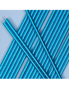 25-pailles-en-papier-bleues-brillantes-deco-baby-shower-bapteme-anniversaire-evjf